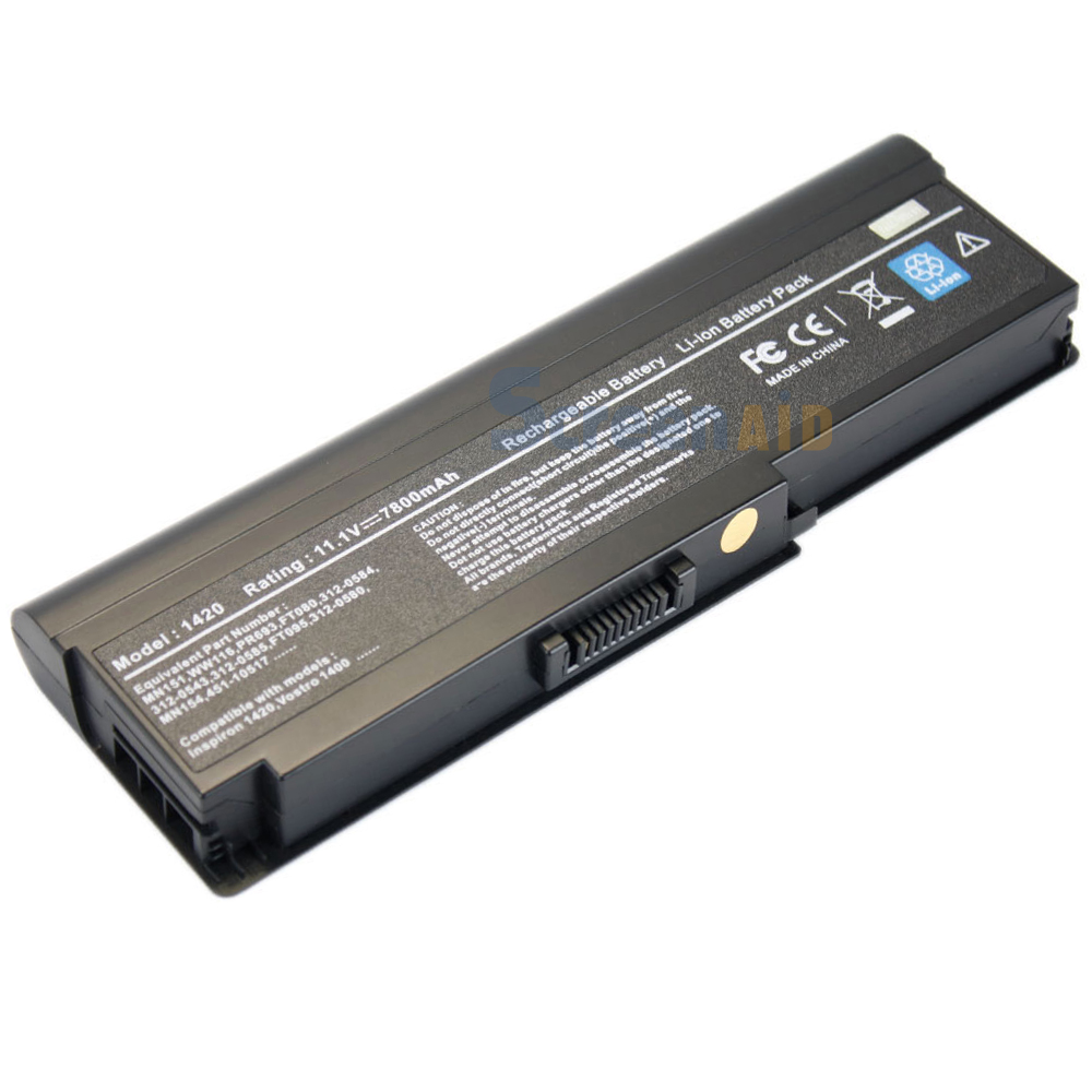 9 Cell Battery For Dell Inspiron 1420 Vostro 1400 MN151